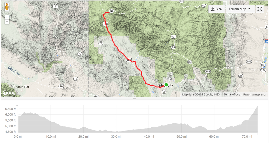 2015 Tour of the Gila Stage 1